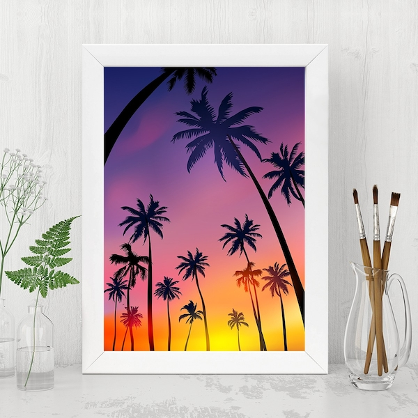 BC6317670802 Multicolor Decorative Framed MDF Painting