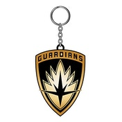 Marvel Comics Guardians of the Galaxy Vol. 2 Guardians Logo Metal Shield Keychain