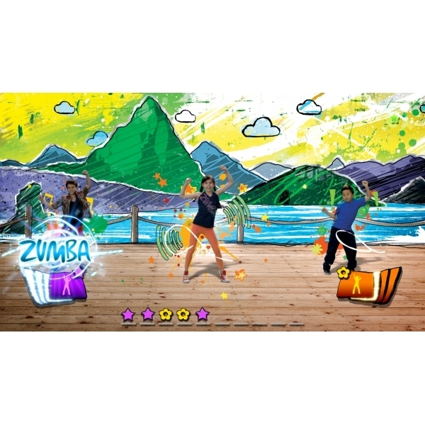 zumba kids xbox 360 game. Black Bedroom Furniture Sets. Home Design Ideas