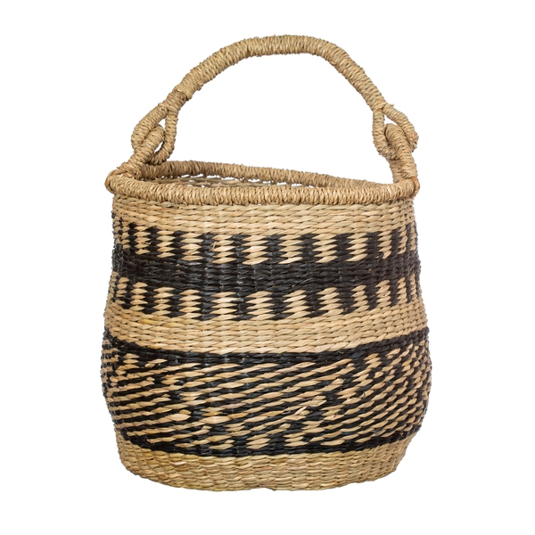 Sass & Belle Seagrass Nomad Basket with Handle