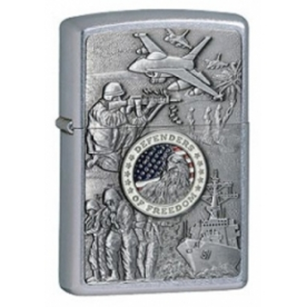 Zippo Joint Forces Street Chrome Windproof Lighter