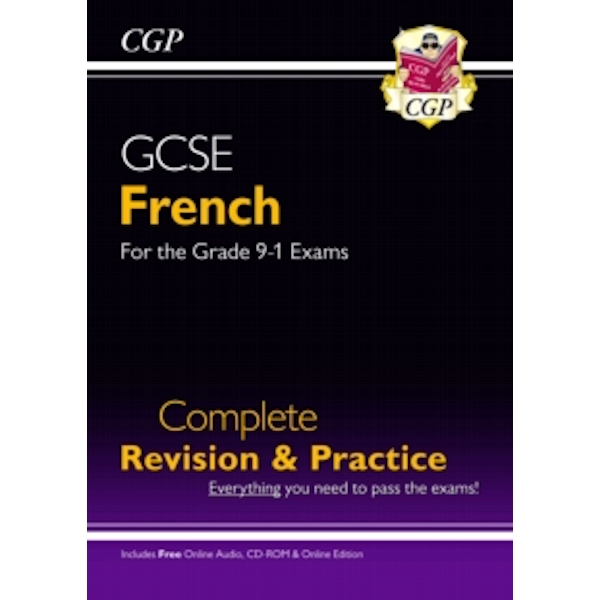 New GCSE French Complete Revision & Practice (with CD & Online Edition) - Grade 9-1 Course by CGP Books (Paperback, 2016)