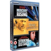 Bruce Willis 3 Film Collection: Tears Of The Sun   Striking Distance   Mercury Rising DVD