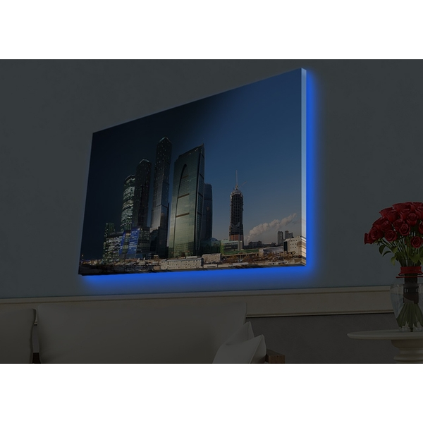 4570HDACT-023 Multicolor Decorative Led Lighted Canvas Painting
