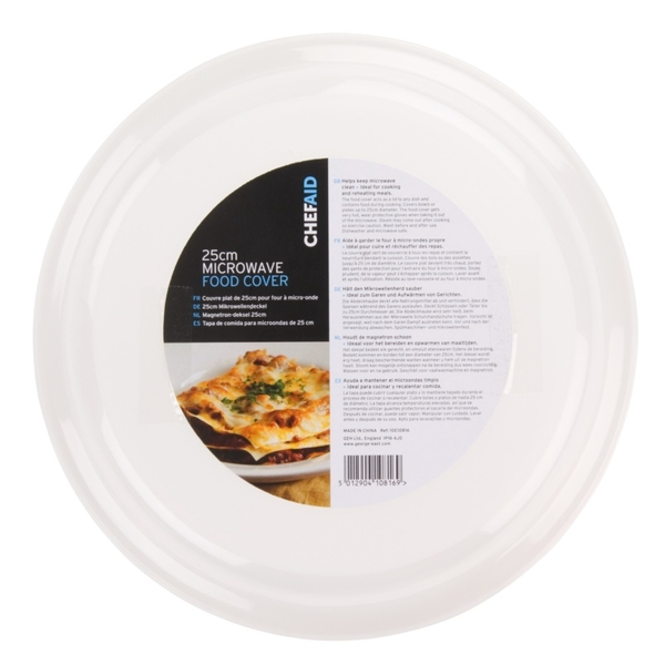 Chef Aid Microwave Food Cover 24cm