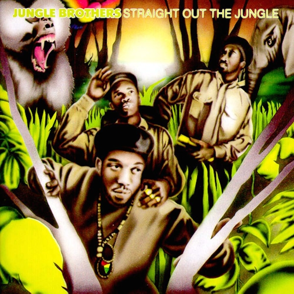 Jungle Brothers - Straight Out The Jungle Limited Edition Green Translucent Vinyl