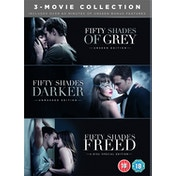 Fifty Shades Freed - 3 Movie Boxset DVD