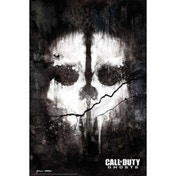 Call Of Duty Ghosts Skull Maxi Poster