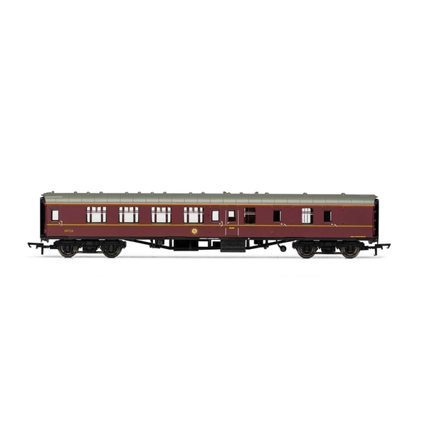 Hornby Hogwarts (Harry Potter) Mk1 BSK Nos. 99723/99312 Model Train