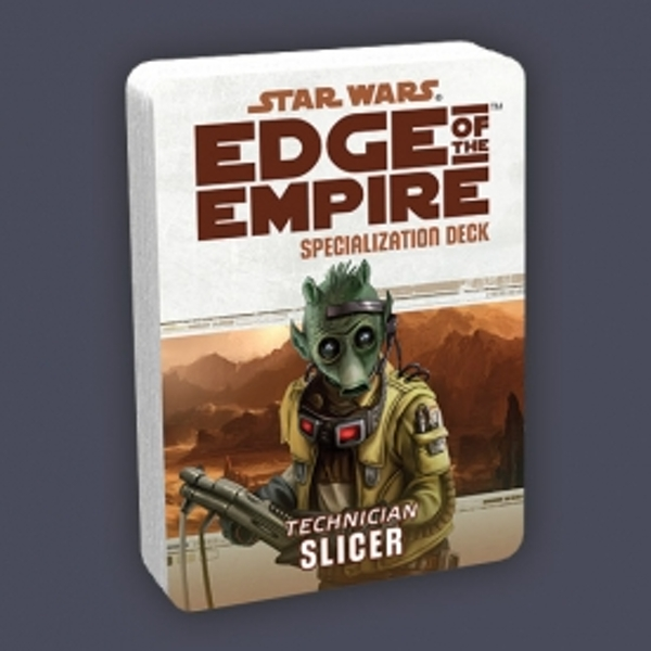 Star Wars Edge of the Empire Specialization Deck Slicer
