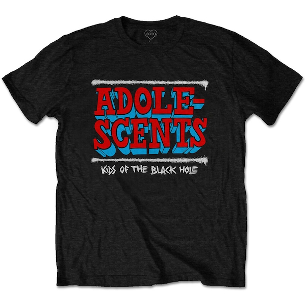 The Adolescents - Kids Of The Black Hole Unisex Small T-Shirt - Black