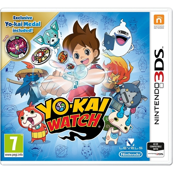 Yo-Kai Watch Medal Special Edition 3DS Game