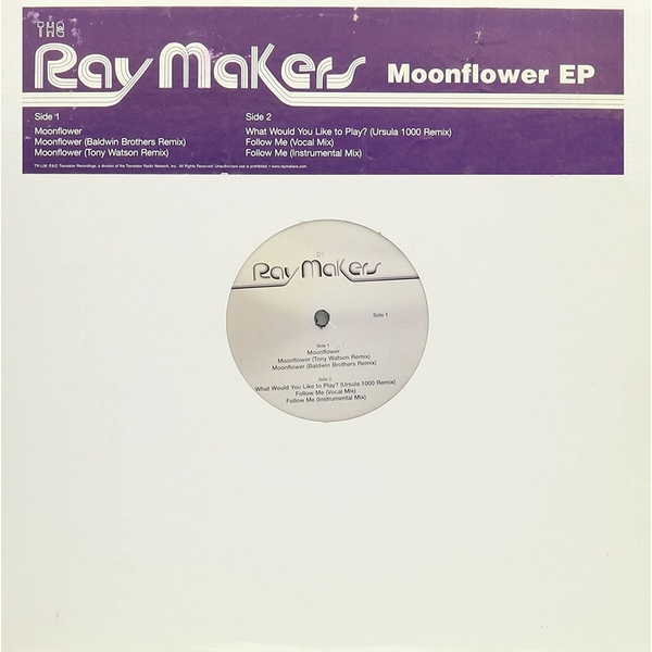 The Ray Makers - Moonflower EP Vinyl