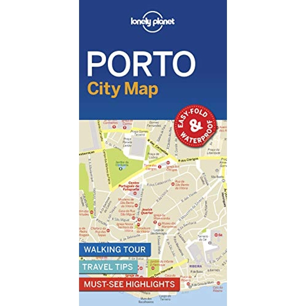 Lonely Planet Porto City Map  Sheet map, folded 2018