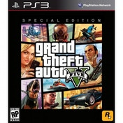 Grand Theft Auto GTA V (Five 5) Special Edition Game PS3 (#)