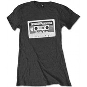 5 Seconds of Summer Tape Ladies Charcoal T Shirt: Small