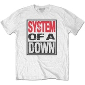 System Of A Down - Triple Stack Box Men's Medium T-Shirt - White