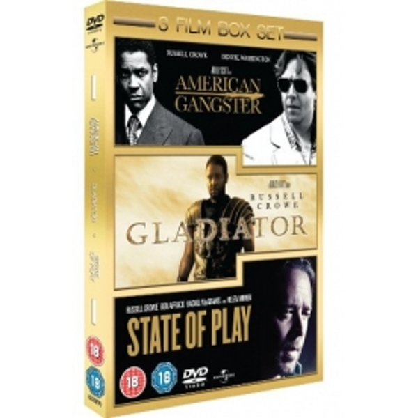 State Of Play  Gladiator  American Gangster DVD
