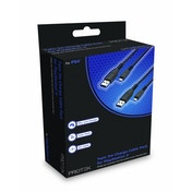 Protek PS4 Controller Charging Cable Twin Pack