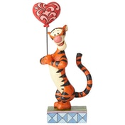 Heartstrings (Tigger with Heart Balloon) Disney Traditions Figurine