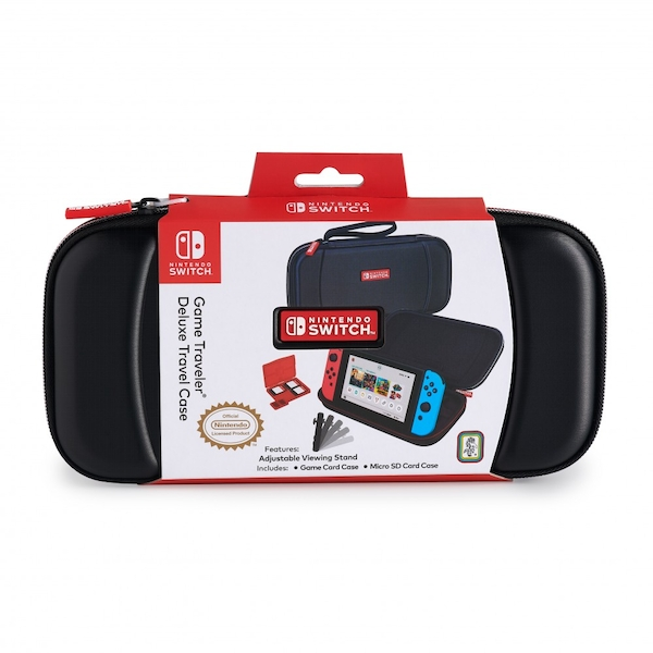 Black Game Traveler Deluxe Travel Case for Nintendo Switch - Image 1