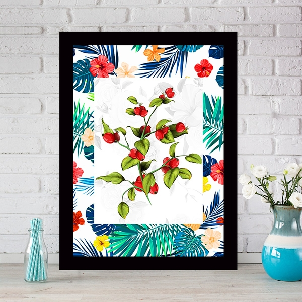 SCZ56698251732 Multicolor Decorative Framed MDF Painting