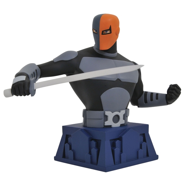 Beware The Batman Deathstroke (Batman The Animated Series) Bust
