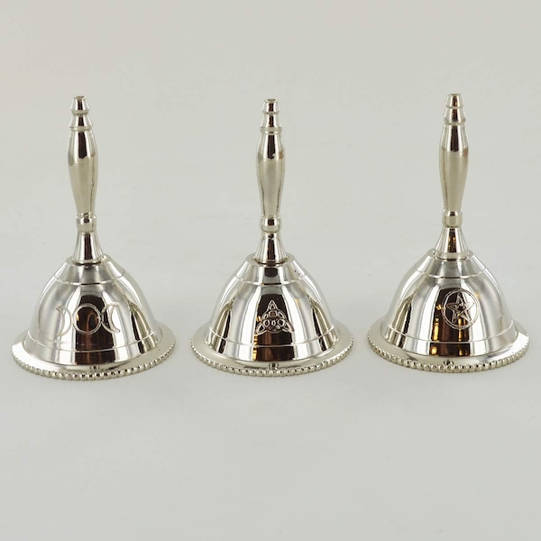 Three Silver Bells (Pentagtram, Triple Moon, Triquet)