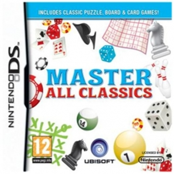 Master All Classics Game DS