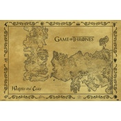Game Of Thrones - Antique Map Maxi Poster