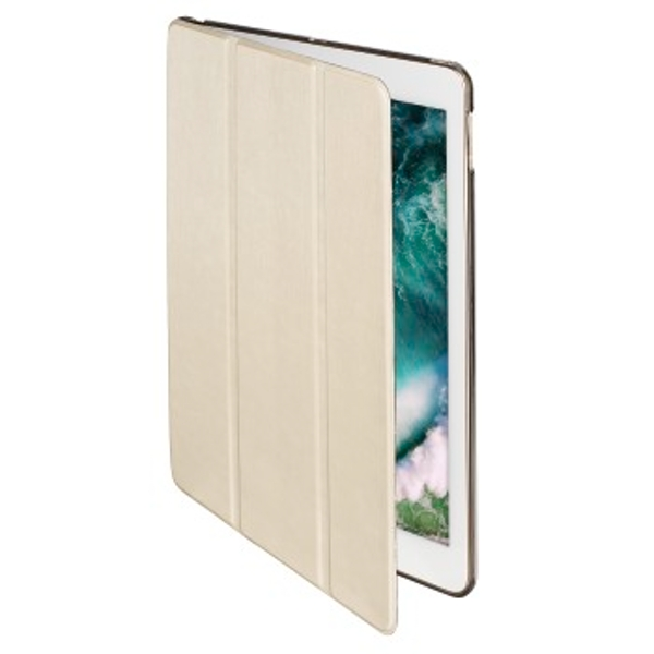"Hama ""Fold Clear"" Tablet Case for Apple iPad 9.7 (2017/2018), cream"