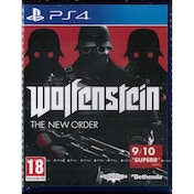 Ex-Display Wolfenstein The New Order Game PS4 Used - Like New