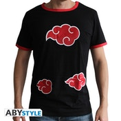 Naruto Shippuden - Akatsuki Men's Large T-Shirt - Black