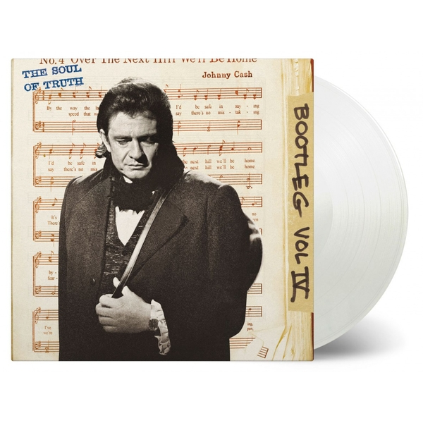 Johnny Cash - Bootleg Vol IV: The Soul Of Truth Limited Edition Transparent Vinyl