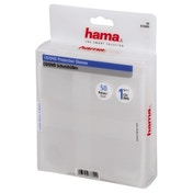 Hama CD/DVD Protective Sleeves 50, transparent