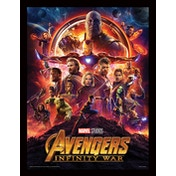 Avengers: Infinity War - One Sheet Framed 30 x 40cm Print