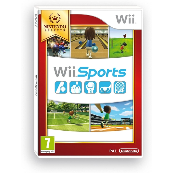 Sports Game (Selects) Wii [Damaged]