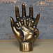 Bronze Effect Hands Entwined Ornament - Image 2