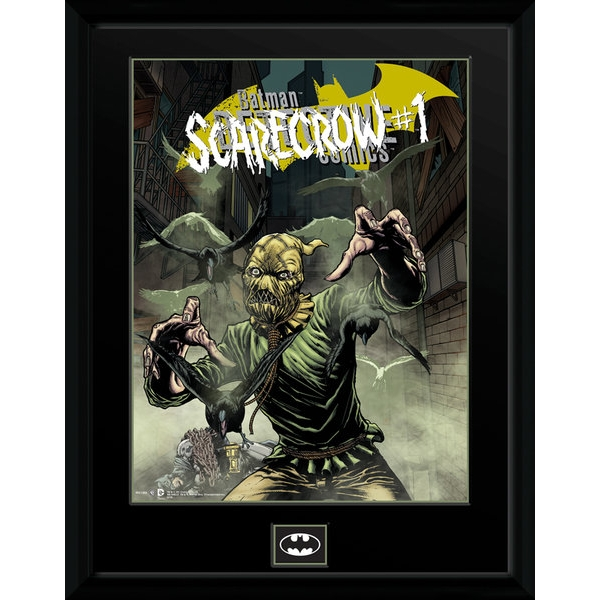 DC Comics Scarecrow Alley Collector Print
