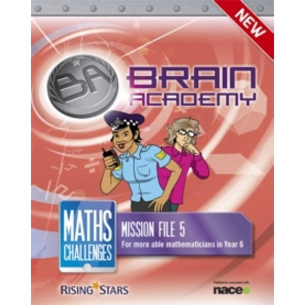 Brain Academy: Maths Challenges Mission File 5 by Steph King, Richard Cooper (Paperback, 2014)