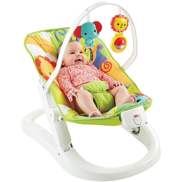 Fisher Price - New Born Rainforest Take Along Swing Seat