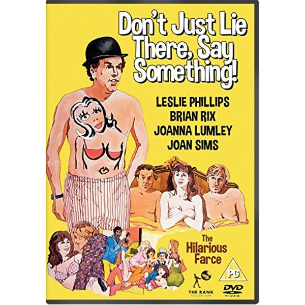 Don't Just Lie There, Say Something DVD