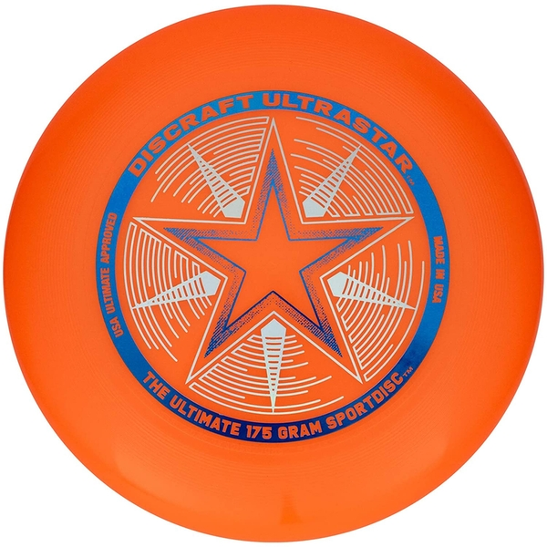Orange Ultrastar Discraft Disc