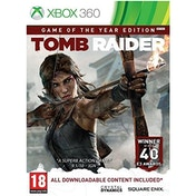Tomb Raider Game Of The Year (GOTY) Game Xbox 360