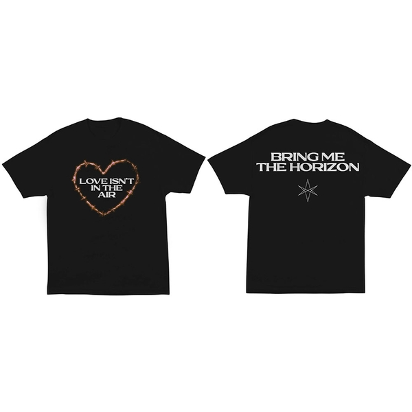 Bring Me The Horizon - Love Unisex Large T-Shirt - Black