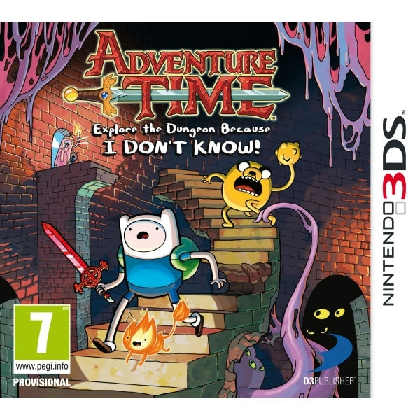 Adventure Time Explore The Dungeon Because I Don't Know Game 3DS