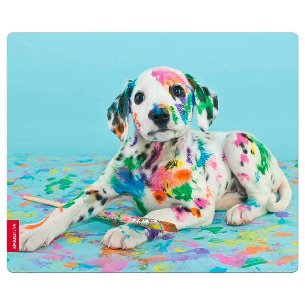 Speedlink Puppy Art Silk Mousepad