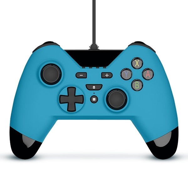 Gioteck WX-4 Wired Controller Blue for Nintendo Switch