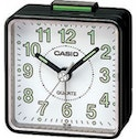 Casio TQ140-1B Beep Alarm Clock Black and White