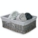 Grey Wicker Basket | M&W Set of 3 - Image 3